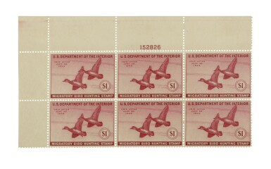 Hunting Permits 1944 $1.00 Red Orange (RW11)