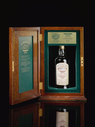 View 2. Thumbnail of Lot 315. BOWMORE 38 YEAR OLD OLOROSO CASK 42.9 ABV 1964   .