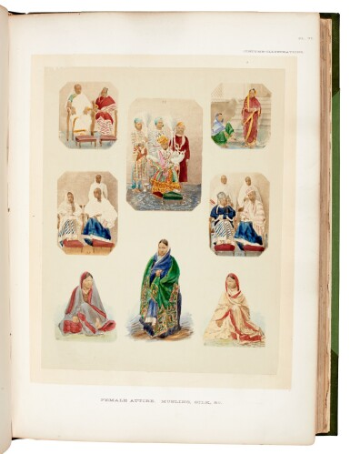View 2. Thumbnail of Lot 183. John Forbes Watson | The Textile manufactures and the costumes of the people of India, 1867.