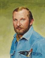 NORMAN ROCKWELL    PORTRAIT OF RICHARD SLOAN