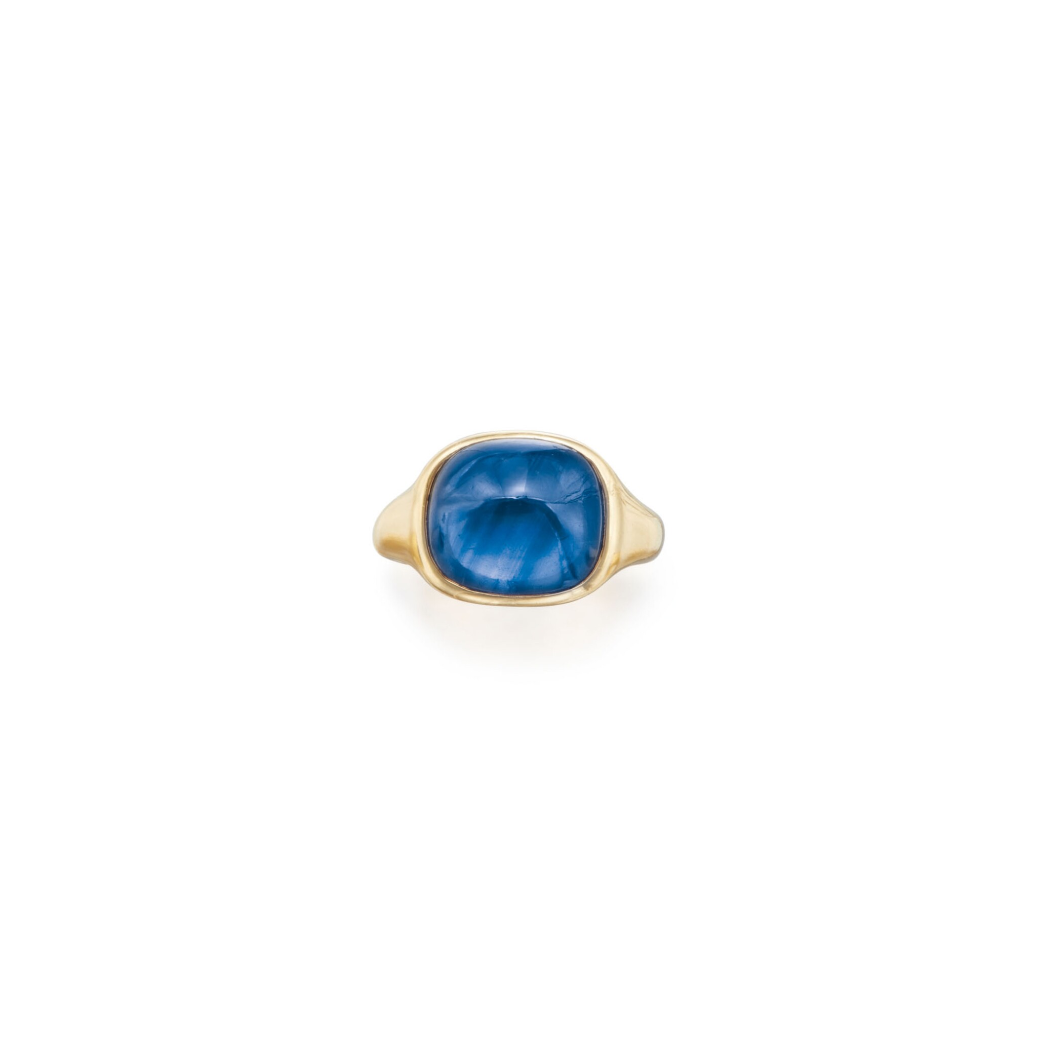 View full screen - View 1 of Lot 174. SAPPHIRE RING, TIFFANY & CO..
