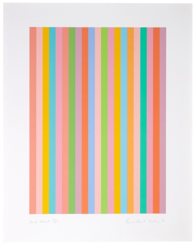 BRIDGET RILEY | AND ABOUT (S. 77)