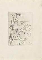 PABLO PICASSO | SUR LA PLAGE. TROIS BAIGNEUSES (B. 240, BA. 268)