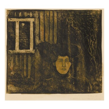 EDVARD MUNCH | MOONLIGHT I (SCH. 81A; W. 90)