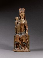 Alpine, circa 1400 | Virgin and Child Enthroned