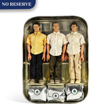 "View 1. Thumbnail of Lot 314. ""Don't Play No Game That I Can't Win"" limited edition action figures ."