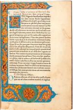 Cicero, Rhetorica ad C. Herennium, [Venice, Jenson, c. 1470], modern red calf