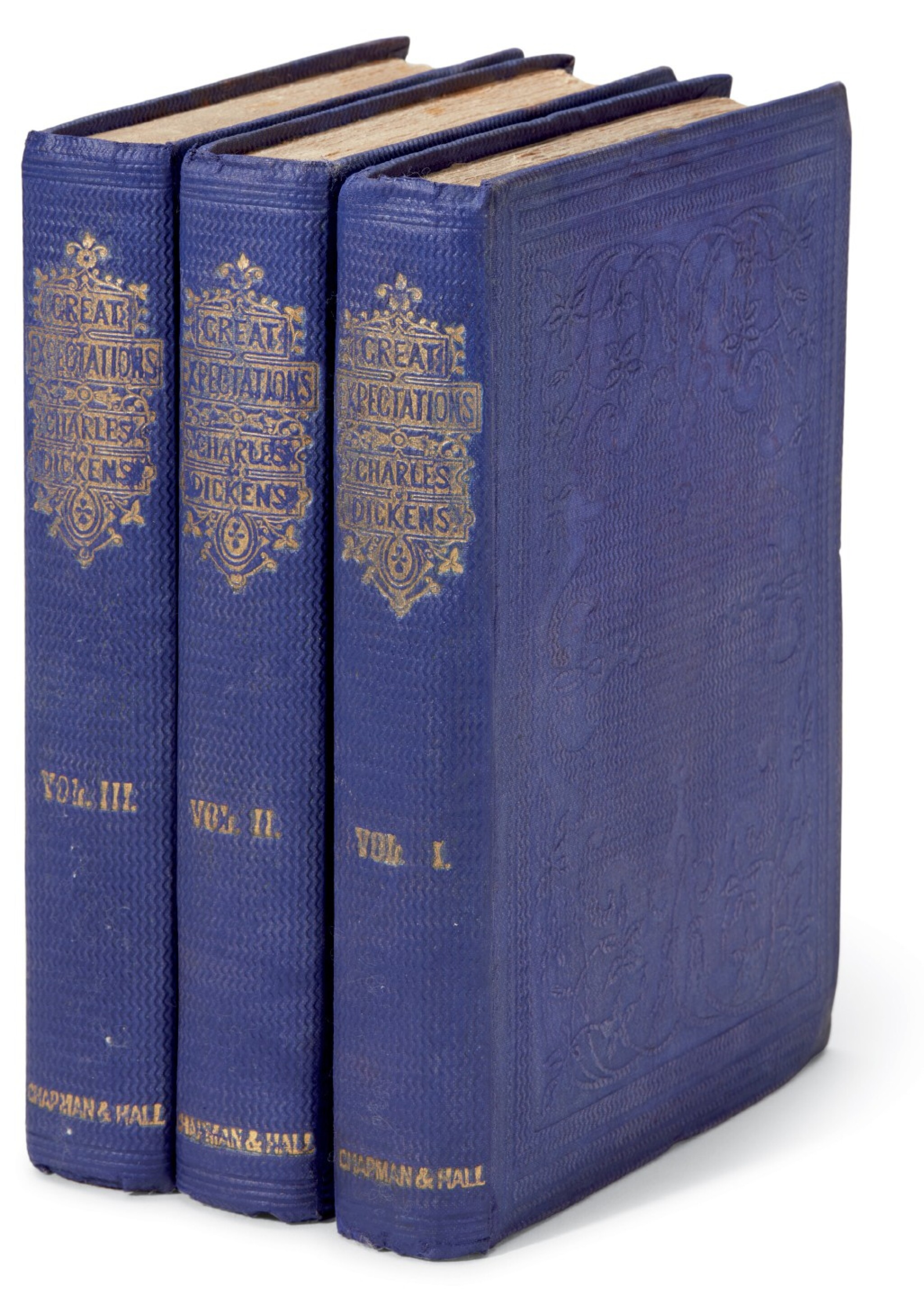 View full screen - View 1 of Lot 189. Dickens, Great Expectations, 1861, first edition, second impression.