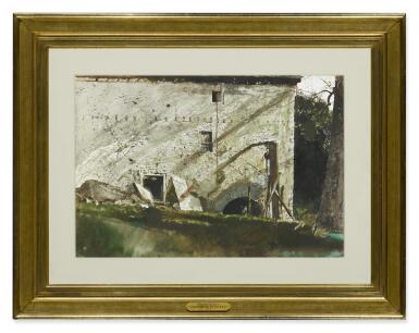 View 2. Thumbnail of Lot 59. ANDREW WYETH   CHAIN HOIST.