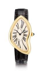 Cartier   Crash, A yellow gold wristwatch, Circa 1991   卡地亞   Crash 黃金腕錶,約1991年製