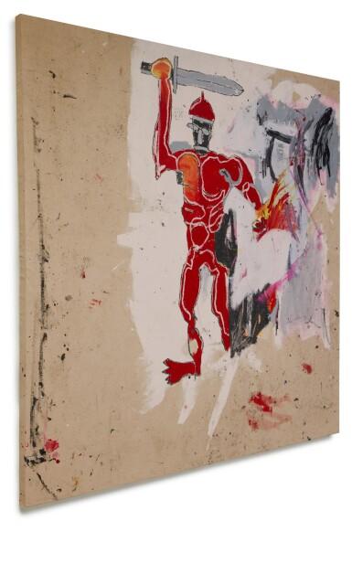 View 2. Thumbnail of Lot 1118. Jean-Michel Basquiat 尚・米榭・巴斯基亞   Untitled (Red Warrior) 無題(紅戰士)     .
