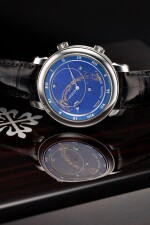 REFERENCE 5102G-001 CELESTIAL A WHITE GOLD AUTOMATIC ASTRONOMICAL WRISTWATCH WITH SKY CHART, PHASES AND POSITION OF THE MOON, AND TIME OF MERIDIAN PASSAGE OF SIRIUS, MADE IN 2003