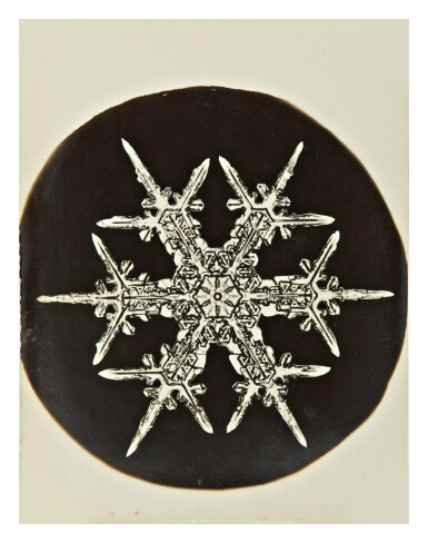 View 2. Thumbnail of Lot 142. WILSON A. BENTLEY | SELECTED IMAGES OF SNOWFLAKES.