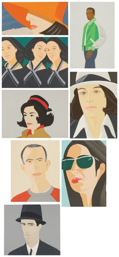 View 1. Thumbnail of Lot 2. ALEX KATZ | ALEX AND ADA, THE 1960'S TO THE 1980'S.
