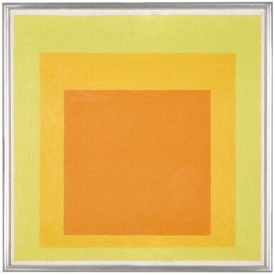 View 1. Thumbnail of Lot 816. JOSEF ALBERS | STUDY FOR HOMAGE TO THE SQUARE: RESOLUTE.
