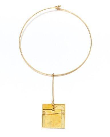 View 4. Thumbnail of Lot 124. Diamond necklace, Dimora (Collana con diamanti, Dimora).