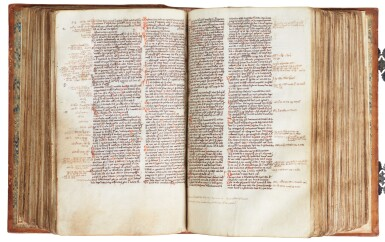 View 10. Thumbnail of Lot 6. The Bible of William Ketyll, with prologues, in Latin [England, 13th century (second quarter or middle)].
