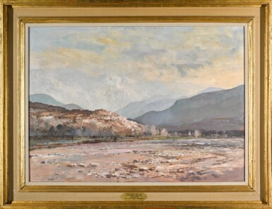 View 2. Thumbnail of Lot 156. River Bed in the Atlas Mountains, Morrocco.