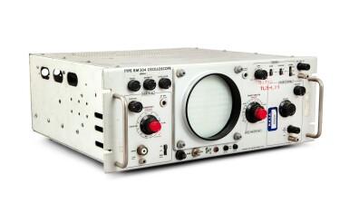 View 2. Thumbnail of Lot 30. Oscilloscope Telemetry Control Panel.