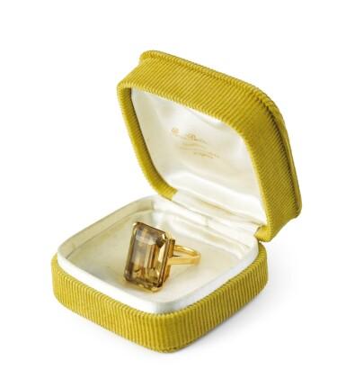 René Boivin, Citrine ring [Bague citrine]