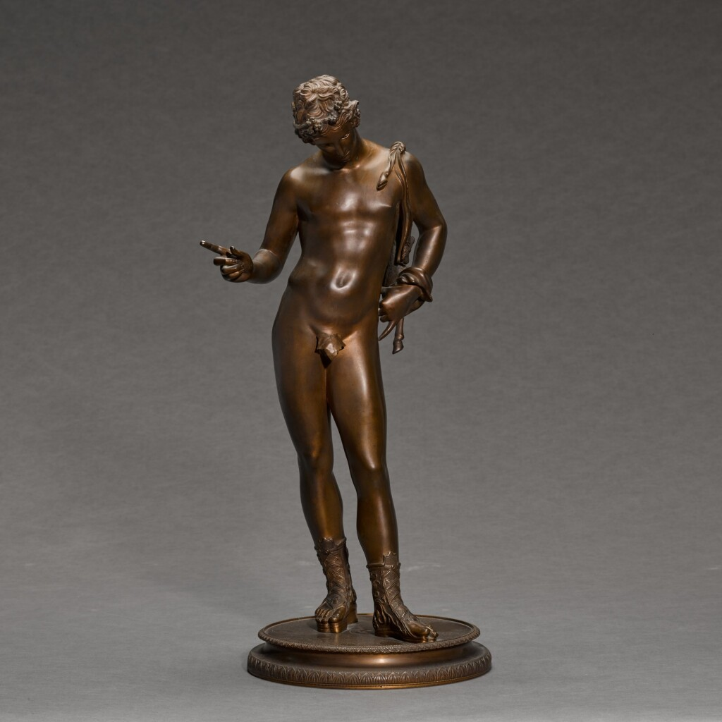 ITALIAN, 19TH CENTURY, AFTER THE ANTIQUE | NARCISSUS