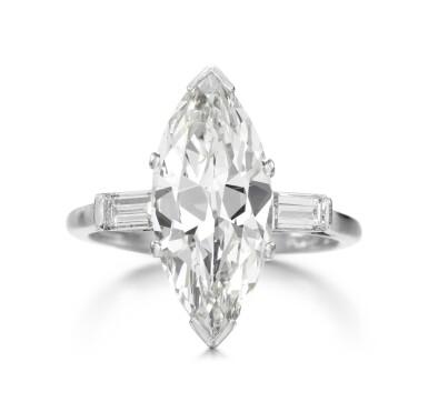 View 1. Thumbnail of Lot 25. DIAMOND RING.