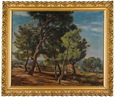 View 2. Thumbnail of Lot 14. JÓZEF PANKIEWICZ   VERDON, PROVENCE.