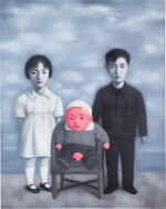 ZHANG XIAOGANG 張曉剛 | BLOODLINE-BIG FAMILY: FAMILY PORTRAIT 血緣-大家庭:全家福