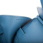 Hermès Bleu Azur Birkin 30cm of Epsom Leather with Palladium Hardware