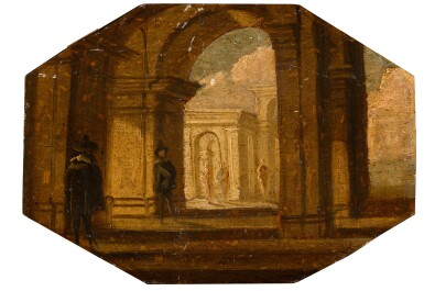 View 2. Thumbnail of Lot 163. A set of architectural vedute.