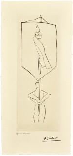 PABLO PICASSO | LE FRÈRE MENDIANT (B. 896; BA. 1014; CZWIKLITZER 98)