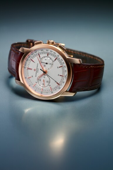 View 6. Thumbnail of Lot 181. REFERENCE 47192 TRADITIONNELLE A PINK GOLD CHRONOGRAPH WRISTWATCH WITH REGISTERS, CIRCA 2009.