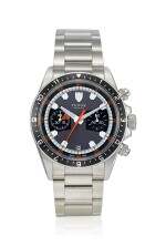 TUDOR | HERITAGE, REFERENCE 70330N, A STAINLESS STEEL CHRONOGRAPH WRISTWATCH WITH DATE AND BRACELET, CIRCA 2011