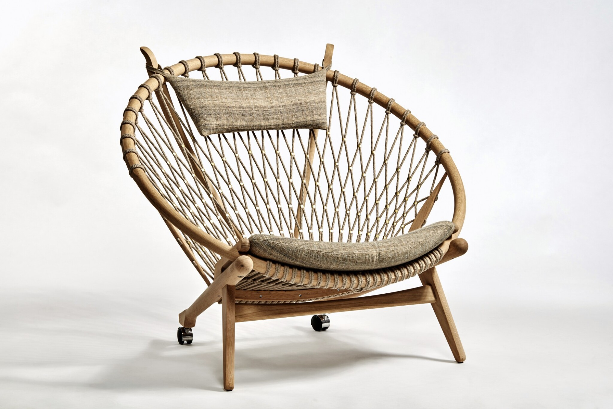"""View full screen - View 1 of Lot 92. """"Hoop"""" Chair."""
