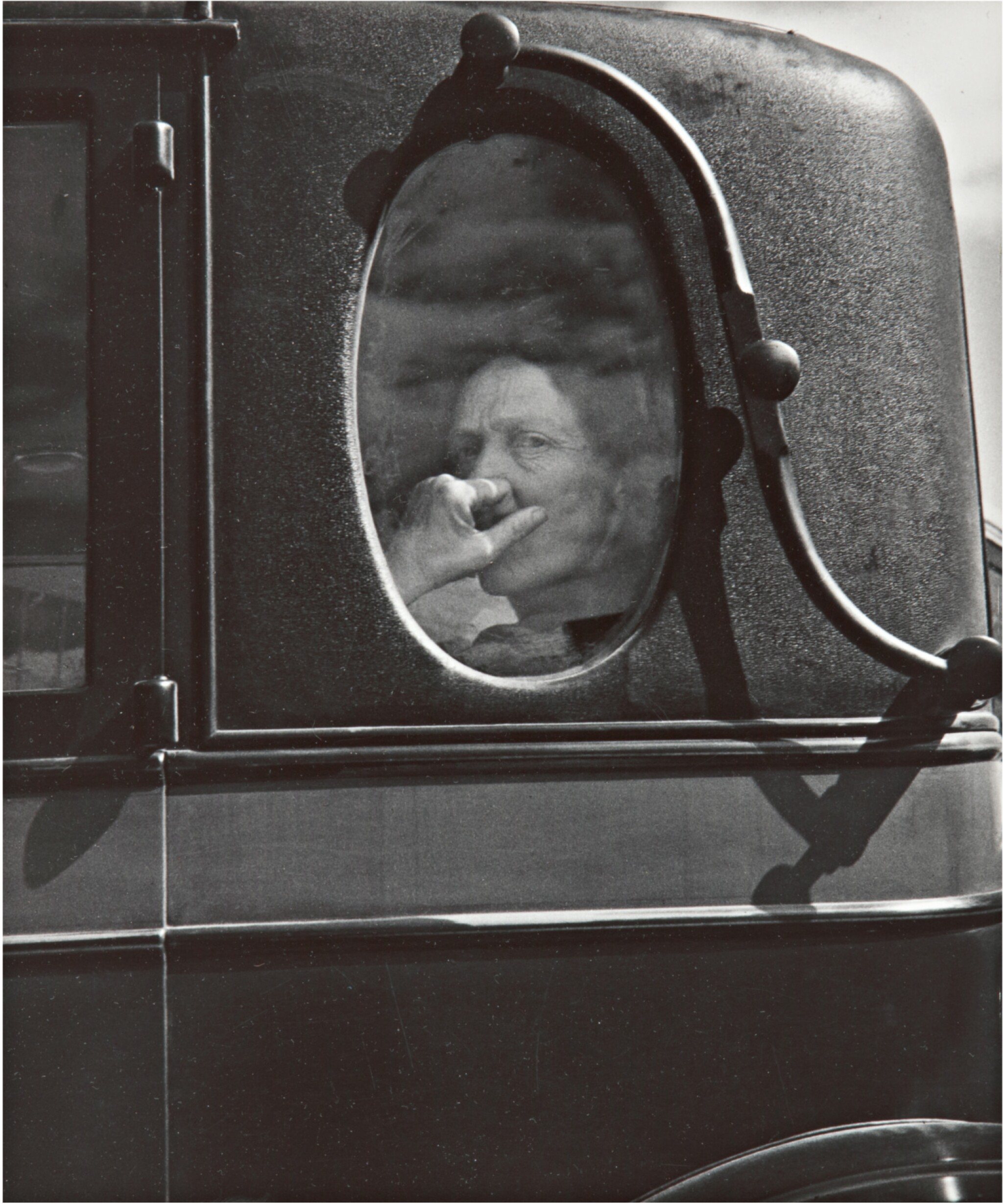 View full screen - View 1 of Lot 71. DOROTHEA LANGE | 'END OF AN ERA IN A SMALL VALLEY TOWN, CALIF.' (FUNERAL CORTEGE).