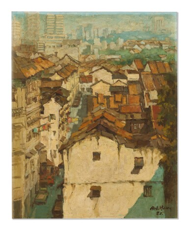 View 1. Thumbnail of Lot 3072. AW TEE HONG     SINGAPORE SHOPHOUSES.