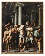 ATTRIBUTED TO TADDEO ZUCCARO | THE FLAGELLATION OF CHRIST