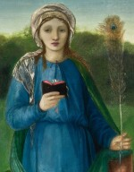 SIR EDWARD COLEY BURNE-JONES, BT., A.R.A., R.W.S.   ST BARBARA, ST DOROTHY AND ST AGNES