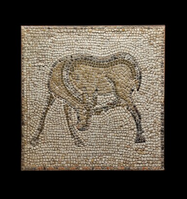 View 1. Thumbnail of Lot 111. A Byzantine Mosaic Fragment, 5th/6th Century A.D..