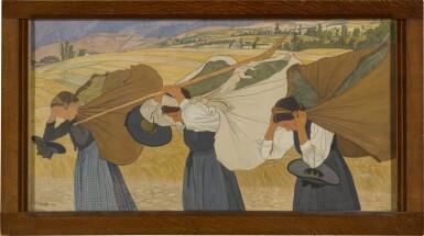 View 2. Thumbnail of Lot 18. Les fardeaux, 1909.
