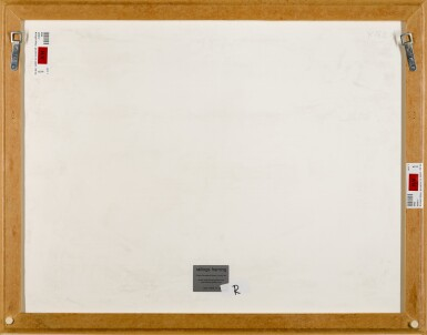View 3. Thumbnail of Lot 210. BRIDGET RILEY | 1ST STUDY FOR PAINTING.