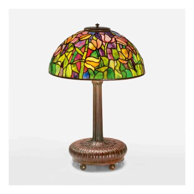 "View 1. Thumbnail of Lot 505. ""Tulip"" Table Lamp."