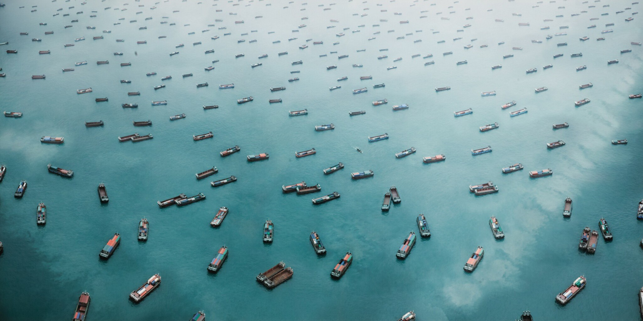 View full screen - View 1 of Lot 105. MARCUS LYON   EXODUS VI - WEST LAMMA CHANNEL, SOUTH CHINA SEA, 2011.