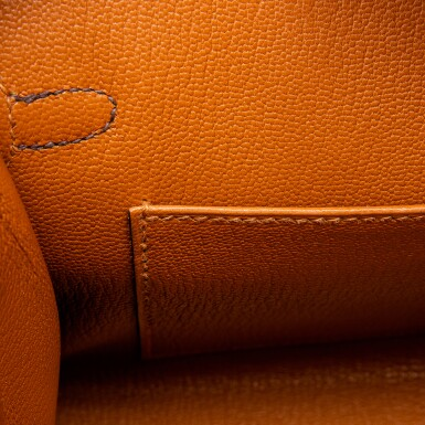 View 8. Thumbnail of Lot 8513. Limited Edition Birkin Faubourg 20cm in Madame, Matte Crocodile, Sombrero, Epsom and Swift Leather with Palladium Hardware, 2020.