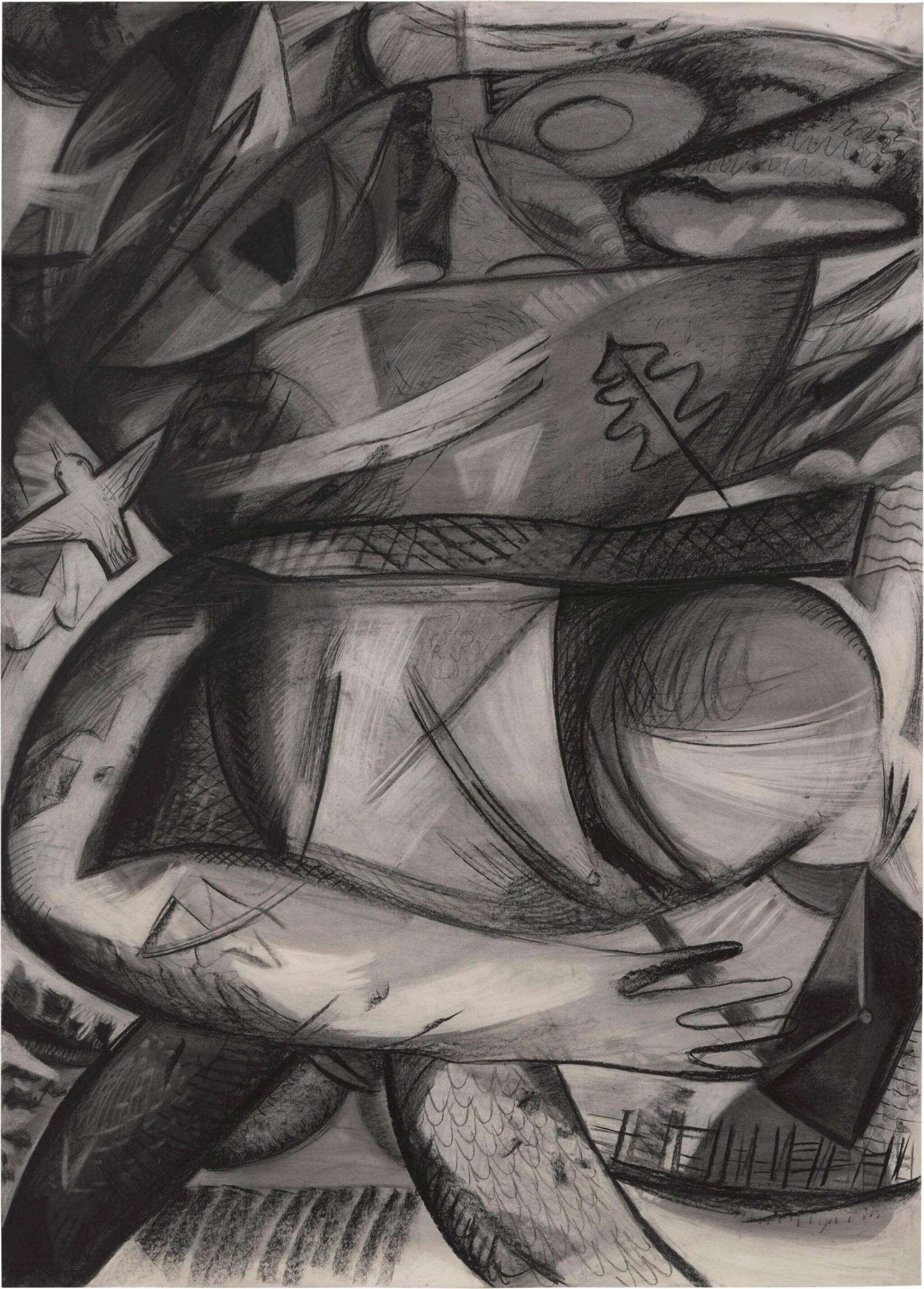 View full screen - View 1 of Lot 202. DANA SCHUTZ | A THING IN THE WIND.