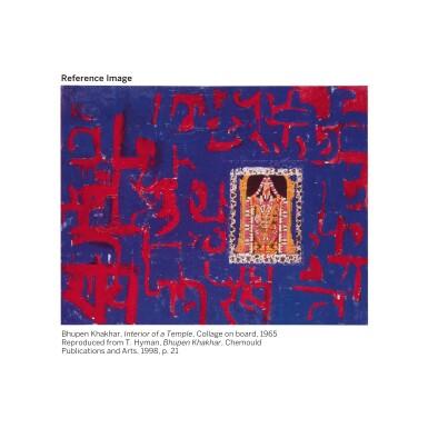 View 3. Thumbnail of Lot 125. BHUPEN KHAKHAR | Interior of a Hindu House - I .