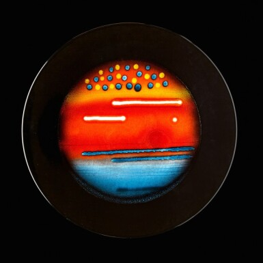 View 9. Thumbnail of Lot 4. Alan Clarke for Poole Pottery, circa 2000   The Planets.