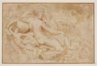 FOLLOWER OF GUILIO ROMANO | Leda and the swan