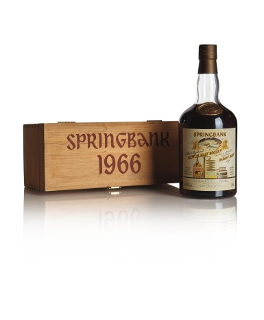 SPRINGBANK 24 YEAR OLD LOCAL BARLEY SERIES 60.7 ABV 1966