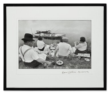 View 2. Thumbnail of Lot 33. HENRI CARTIER-BRESSON | ON THE BANKS OF THE MARNE.